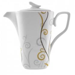 Théière 1350 ml Virevolte en porcelaine
