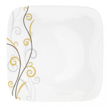 Assiette plate 30,5 Virevolte en porcelaine