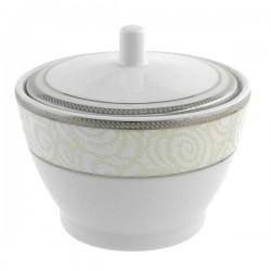 Sucrier 250 ml La Roseraie en porcelaine