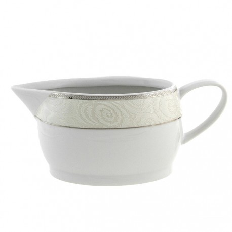 Saucière 500 ml La Roseraie en porcelaine