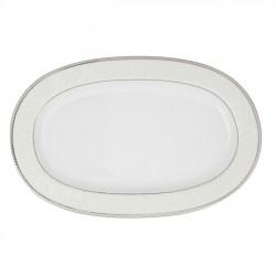 Ravier ovale 23 cm La Roseraie en porcelaine