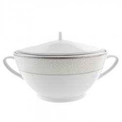 Soupiere 2500 ml La Roseraie en porcelaine