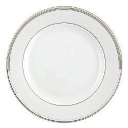 Assiette plate ronde à aile 27 cm Noces Celestes en porcelaine