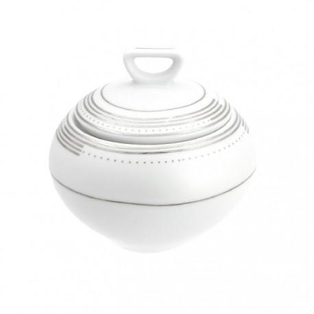 Sucrier en porcelaine, service de table, service de vaisselle en porcelaine