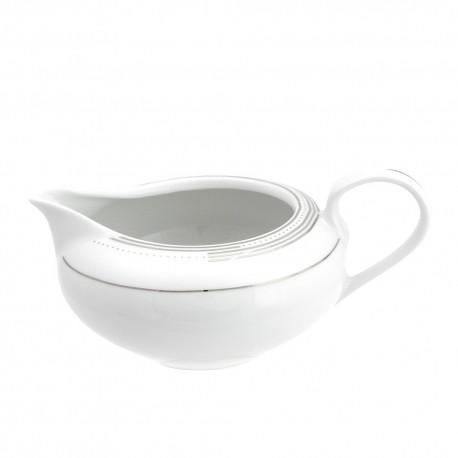 saucière en porcelaine, vaisselle en porcelaine, art de la table, porcelaine