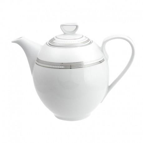 Cafetière 1300 ml avec couvercle Noces Célestes en porcelaine, service à café en porcelaine