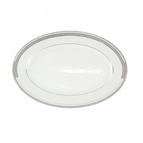 Ravier 25 cm Noces Celestes en porcelaine