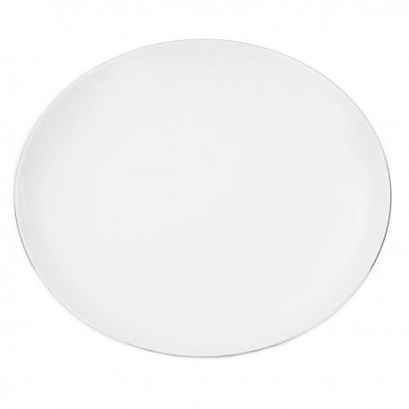 Assiette plate 22 cm Amoureuse en porcelaine