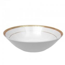 Saladier rond 23 cm en porcelaine Totale Excellence
