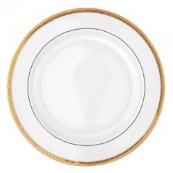 Plat à aile rond 32 cm Totale Excellence en porcelaine