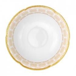 Saladier 23 cm rond en porcelaine Soleil Levant