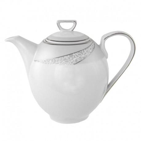 Cafetière 1300 ml avec couvercle Cristal Eternel en porcelaine