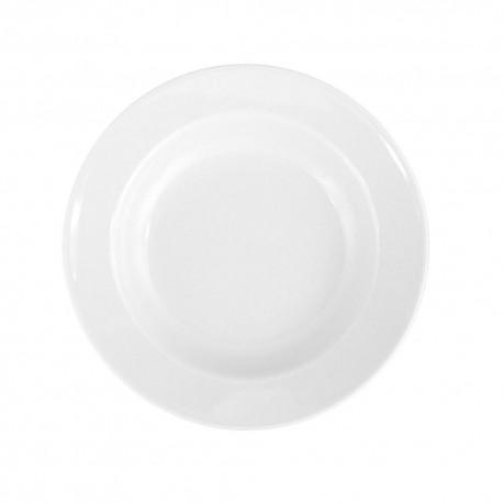 Assiette creuse à aile 22 cm Révérence Nivéenne en porcelaine