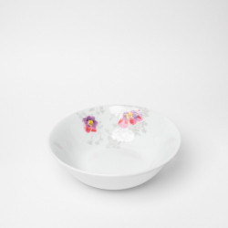 Bol 18.5 cm en porcelaine Brume de Cosmos
