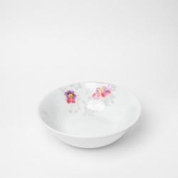 Coupelle 14 cm en porcelaine - Brume de Cosmos