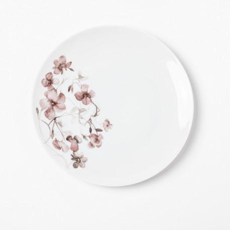 Assiette plate 20 cm Passion d'Antan en porcelaine