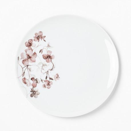 Assiette plate 27,5 cm Passion d'Antan en porcelaine