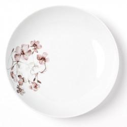 Assiette calotte 22.5 cm Passion d'Antan en porcelaine