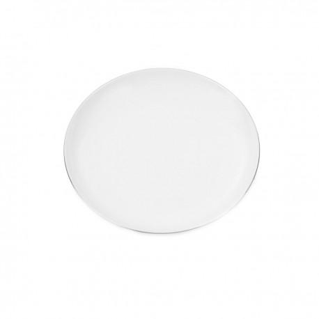 Assiette plate 18 cm Forsythia en porcelaine