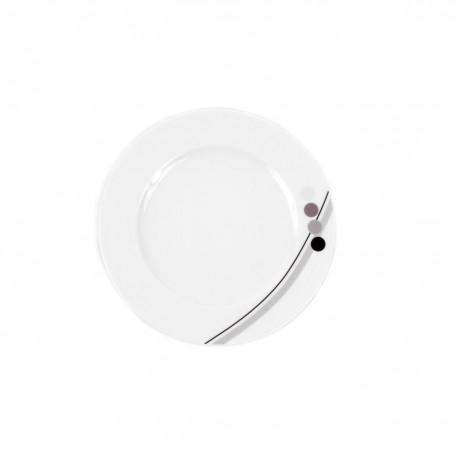 Assiette plate 19 cm Hémérocalle