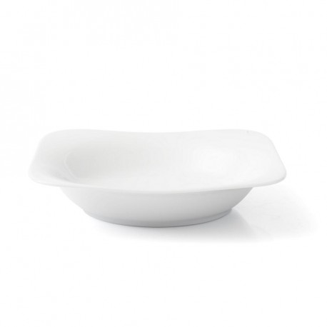 Assiette creuse 24,5 cm Viorne en porcelaine