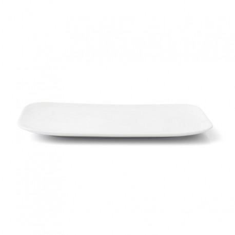 Plat rectangulaire 34 cm Viorne en porcelaine