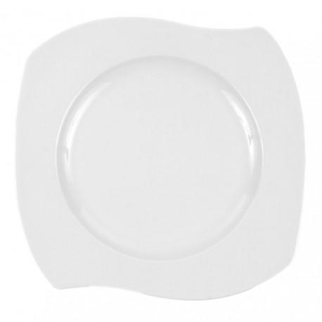 Assiette plate 31 cm Gaillarde en porcelaine
