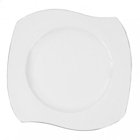 Assiette plate 31 cm Bergenia en porcelaine