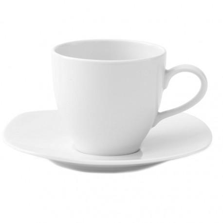 Tasse 200 ml avec soucoupe Gaillarde en porcelaine