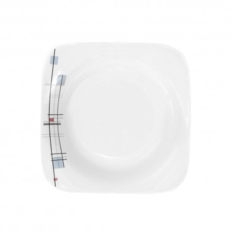 Assiette creuse 24,5 cm Edelweiss en porcelaine