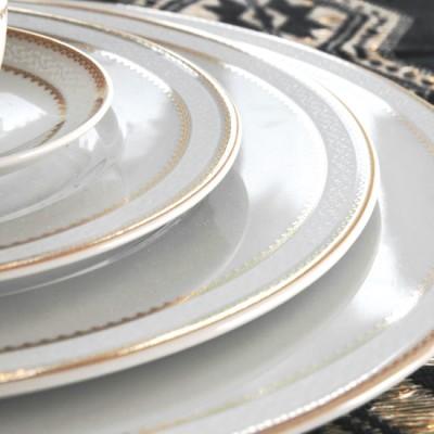 Service de table en porcelaine boh mienne tasse assiette - Art de la table vaisselle ...